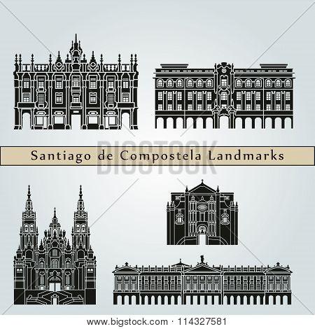 Santiago De Compostela Landmarks