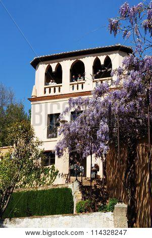 Generalife gardens, Alhambra Palace.