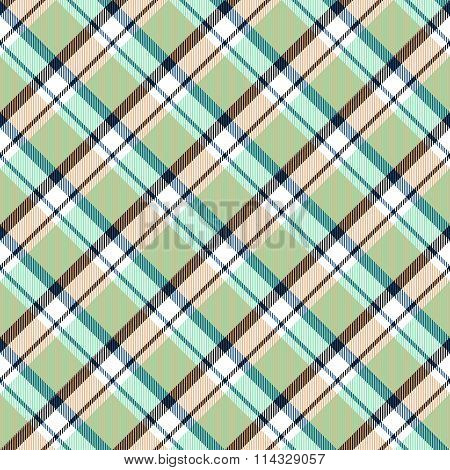 Abstract checkered oblique seamless pattern