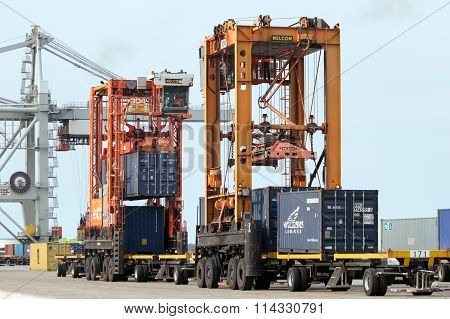 Port Container Handling