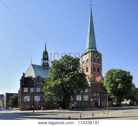 Saint James Church, Lubeck, Germany