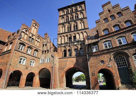 Burgtor Gate, Lubeck, Germany