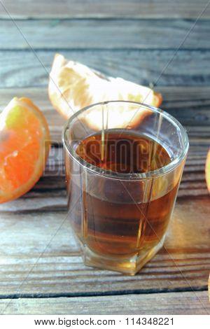 Cognac And Orange