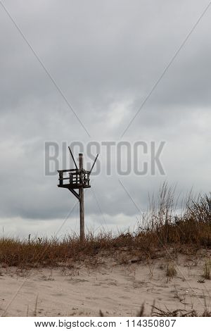 Watch Tower on Beach