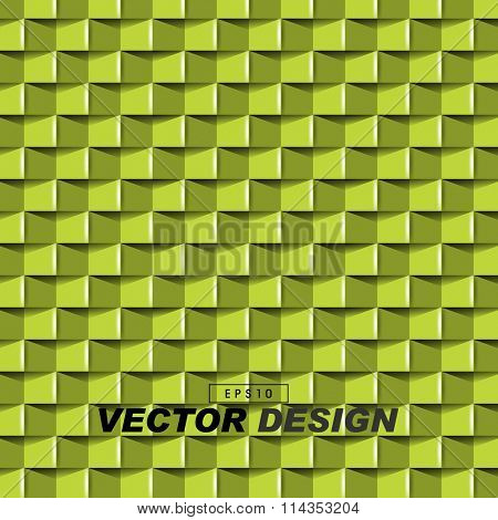 abstract 3d frontal pattern elements. eps10 vector design