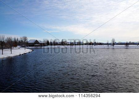 Small Man-Made Lake