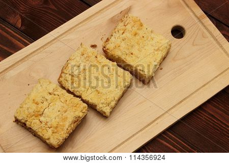 Pie cottage cheese