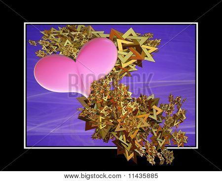 Heart Spangles Three Dimensional
