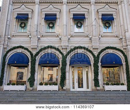 Ralph Lauren Flagship Store, Moscow