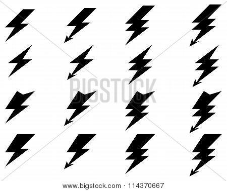lighting of thunder