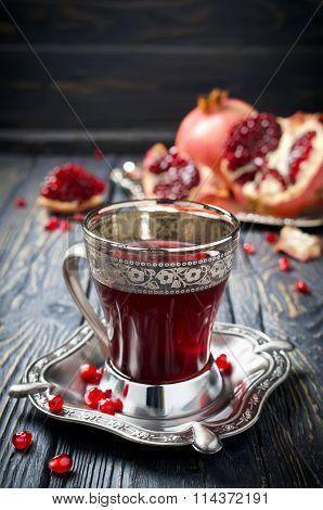 Pomegranate Juice And Pomegranate