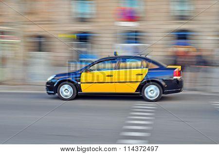Taxi Car, Barcelona