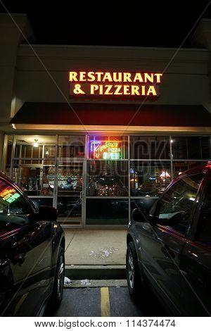 Giordano's Restaurant on New Year's Eve