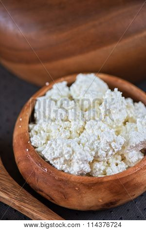 curd in a bowl