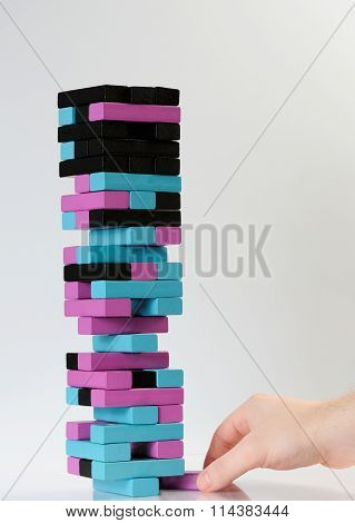 Last Brick In Jenga