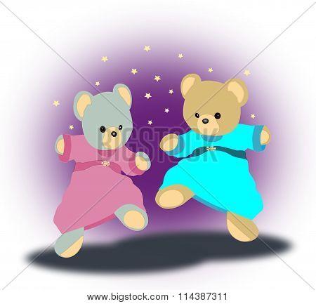 Dancing Teddy Bears