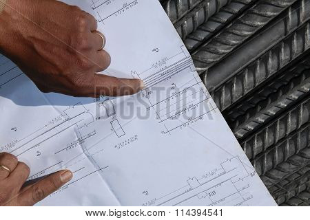 Plan And Steel Rebar