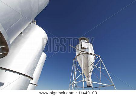Farm silos