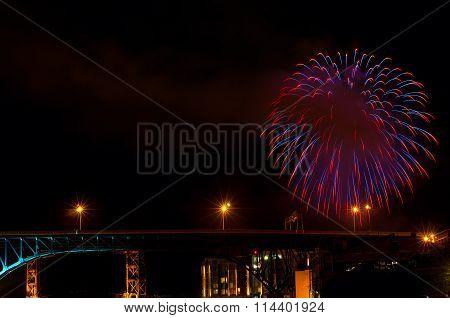 Bridge Fireworks