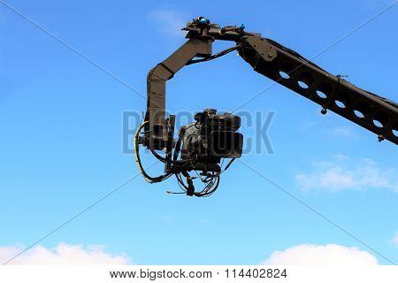 Camera On Crane Shooting
