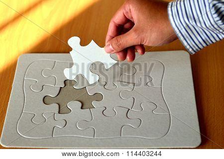 jigsaw puzzle-lack