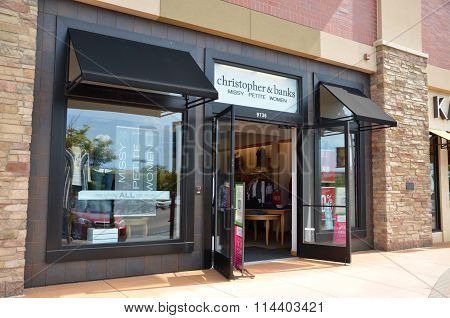 Christopher & Banks Store