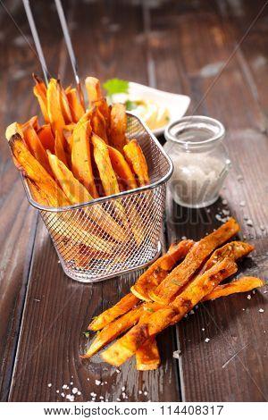 fried sweet potato