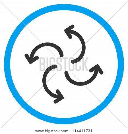 Cyclone Arrows Icon