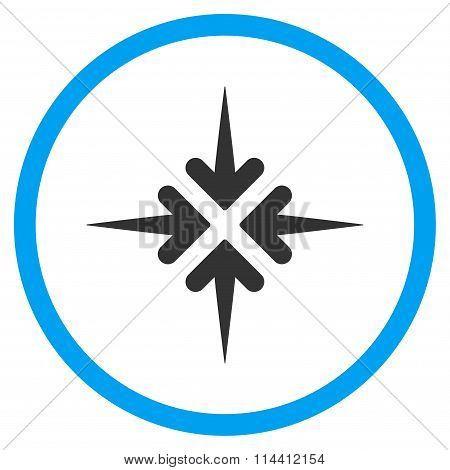 Impact Arrows Icon