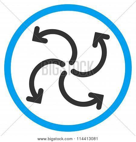 Turbine Rotation Icon