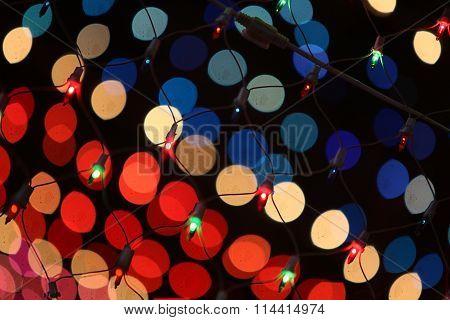 Festive Lights Background