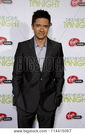 Topher Grace at the Los Angeles Premiere of
