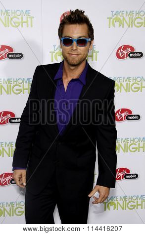HOLLYWOOD, CALIFORNIA - March 2, 2011. Lance Bass at the Los Angeles premiere of