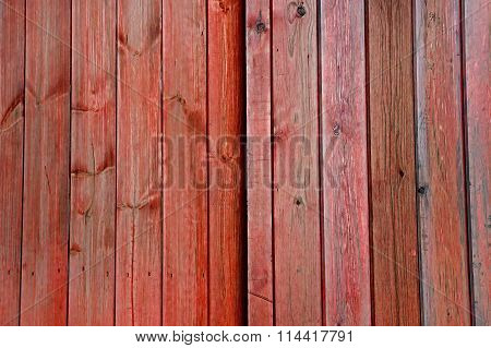 Orange Wooden Doors / Planks / Panels - Background Texture.