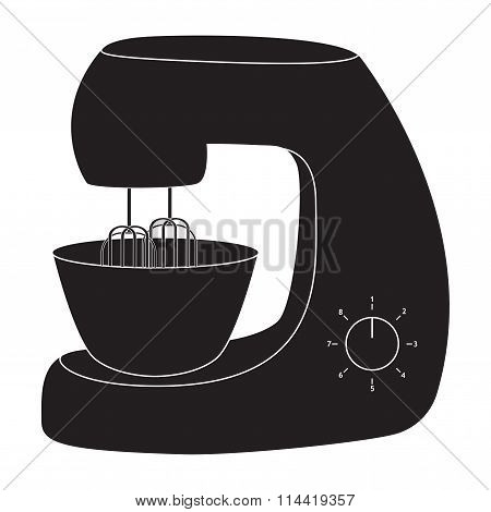 Stand Mixer Icon.