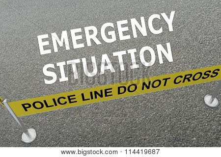 Emergency Situation Concept