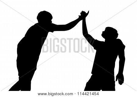 Success Men Teamwork
