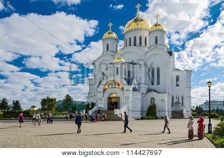 Savior Transfiguration Cathedral Of Holy Trinity Seraphim-diveevo Monastery, Russia