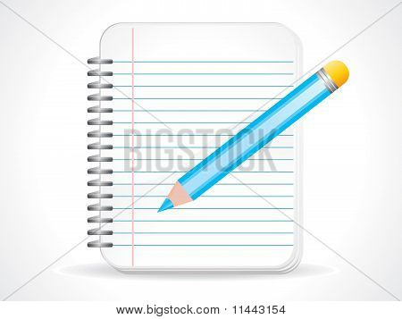 Abstract Notepad Icon