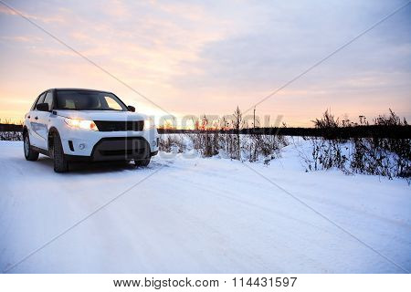 Country Winter Road