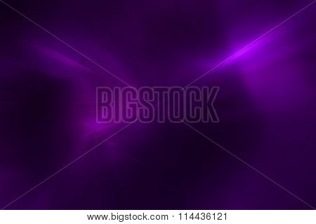 Purple Wave Glow. Lighting Effect Abstract Background For Your Business.
