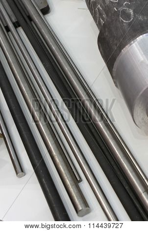 Metal Rods Of Different Diameters