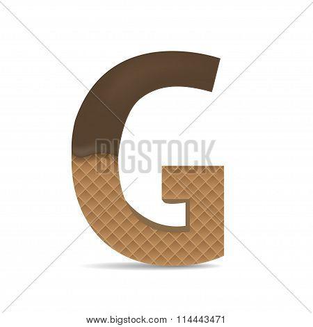 Wafer G letter