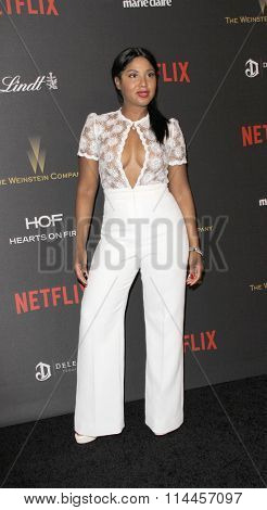 BEVERLY HILLS, CA - JAN. 10: Toni Braxton arrives at the Weinstein Company and Netflix 2016 Golden Globes After Party on Sunday, January 10, 2016 at the Beverly Hilton Hotel in Beverly Hills, CA.