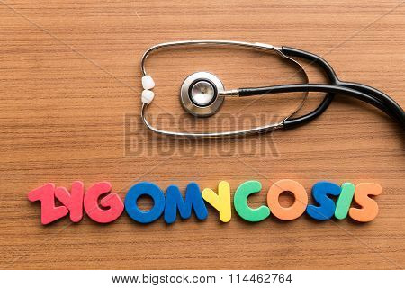 Zygomycosis Colorful Word