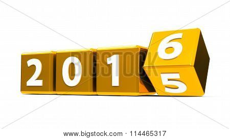 Gold Cubes 2016