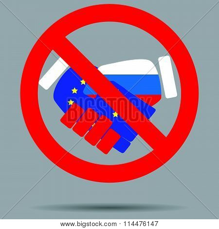 Ban sign cooperation European Union and russia