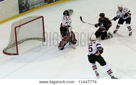 Kharkov- Donbass Ice Hockey Match
