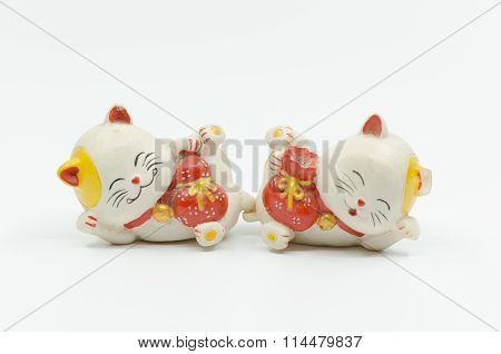 Japanese Cat Doll