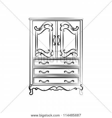 Classic royal closet